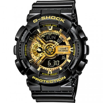 CASIO BLACK AND GOLD G-SHOCK GA-110GA-1A GA-110GB-1ADR GA110GB-1A